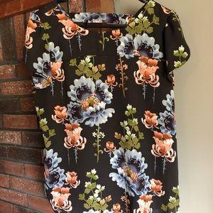Loft Tulip sleeve floral blouse